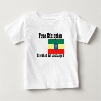 エチオピアは変わらずにtワイシャツ走行しました ベビーTシャツ