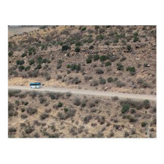 エチオピア山の通り ポストカード