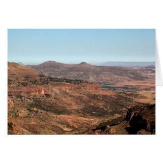 エチオピア山 カード