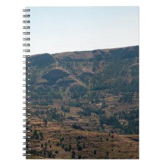 エチオピア山 ノートブック