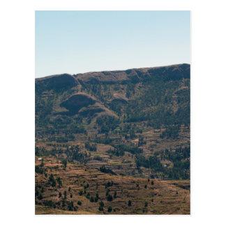 エチオピア山 ポストカード