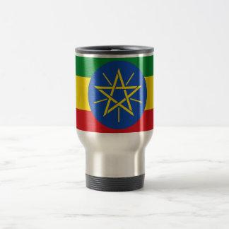 エチオピア旅行または通勤者のマグの旗 トラベルマグ