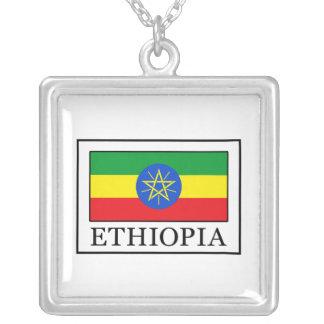 エチオピア シルバープレートネックレス