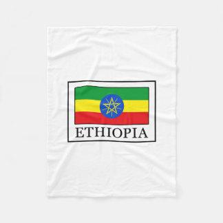 エチオピア フリースブランケット
