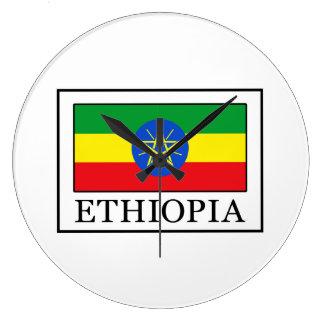 エチオピア ラージ壁時計