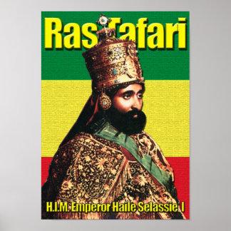 エチオピア、Ras TafariのHaile Selassie Iの皇帝 ポスター