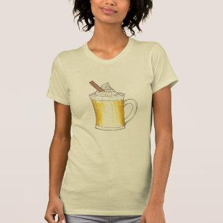 エッグノッグのエッグノッグの飲み物のマグのクリスマスの休日のティー Tシャツ