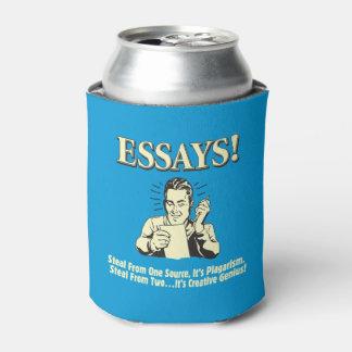 エッセイ: 1つの剽窃2の天才を盗んで下さい 缶クーラー