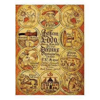 エッダの北欧神話 ポストカード