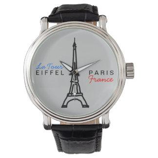 エッフェル塔のシンプル及びエレガント 腕時計