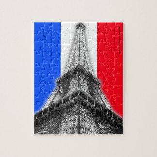 エッフェル塔のパリのパズル ジグソーパズル
