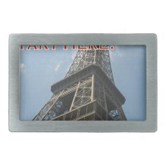 エッフェル塔のパリフランスの夏2016のフランス語 長方形ベルトバックル