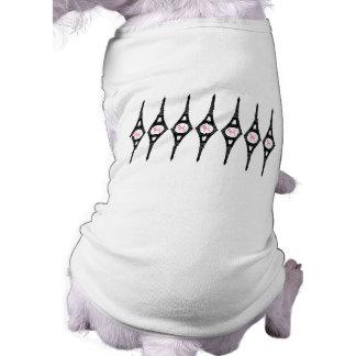 エッフェル塔のピンクのプードル ペット服