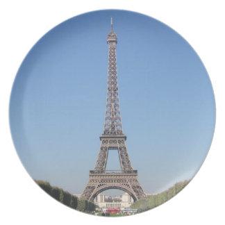 エッフェル塔のプレート プレート
