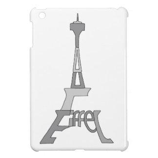 エッフェル塔のポップアート iPad MINIケース