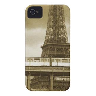 エッフェル塔のヴィンテージのiPhoneの場合 Case-Mate iPhone 4 ケース