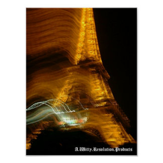 エッフェル塔の汚点 ポスター