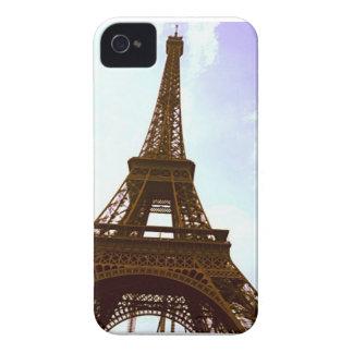 エッフェル塔の箱Iphone 4/4S Case-Mate iPhone 4 ケース