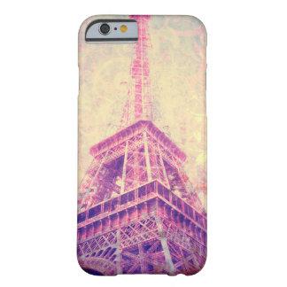 エッフェル塔の芸術の電話箱 BARELY THERE iPhone 6 ケース