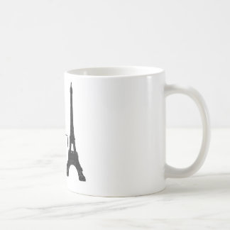 エッフェル塔のJeのt'aimeの郵便はがきのマグ コーヒーマグカップ