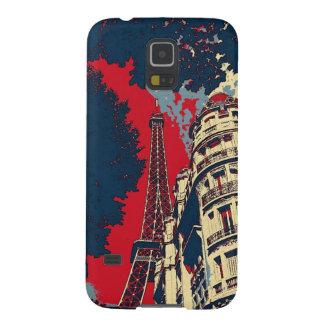 エッフェル塔のSamsungの銀河系S5の電話箱 Galaxy S5 ケース