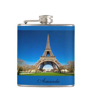 エッフェル塔パリのユニークな眺め フラスク