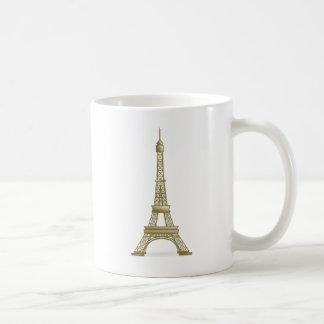 エッフェル塔パリ コーヒーマグカップ
