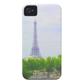 エッフェル塔及びセーヌ河、パリフランス Case-Mate iPhone 4 ケース