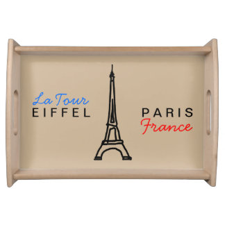 エッフェル塔-パリかフランス トレー