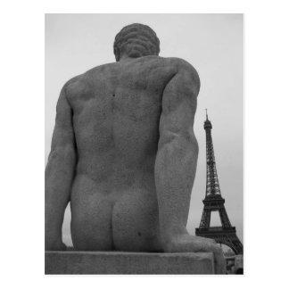 エッフェル塔、パリフランスの郵便はがきII ポストカード