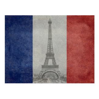 エッフェル塔、パリフランス ポストカード