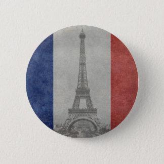 エッフェル塔、パリフランス 缶バッジ