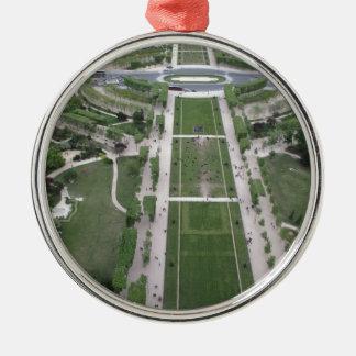 エッフェル塔、パリ、フランスから見て下さい メタルオーナメント