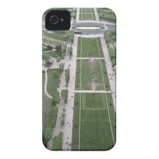 エッフェル塔、パリ、フランスから見て下さい Case-Mate iPhone 4 ケース