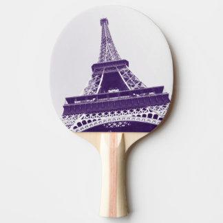 エッフェル塔、パリ、フランス 卓球ラケット
