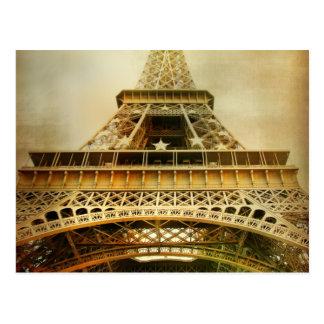 エッフェル塔、パリ ポストカード