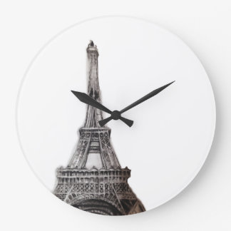 エッフェル塔 ラージ壁時計