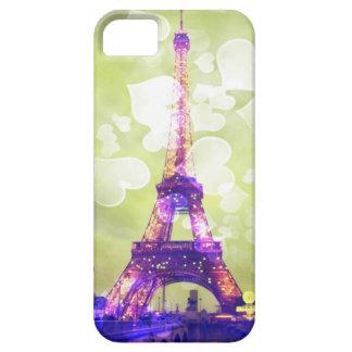 エッフェル塔、緑の背景のiPhoneの箱 Case-Mate iPhone 5 ケース