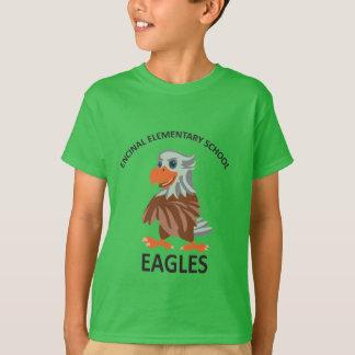 エディーの緑のTシャツ Tシャツ