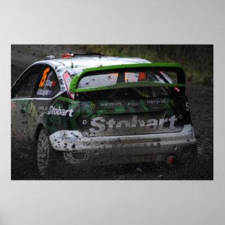 エディーStobart WRC ポスター