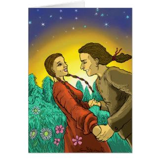 エデンのバレンタインのカードの目 カード