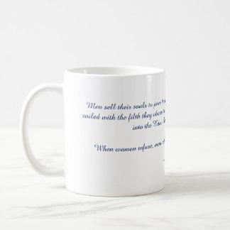 エデンのマグから投げられる人 コーヒーマグカップ