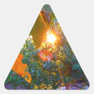 エデンの日没 三角形シール