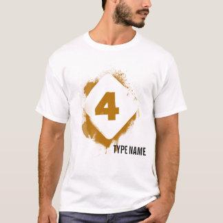 エデンの暗いステンシル- 4 Tシャツ