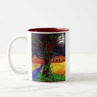 エデンの木のマグ ツートーンマグカップ