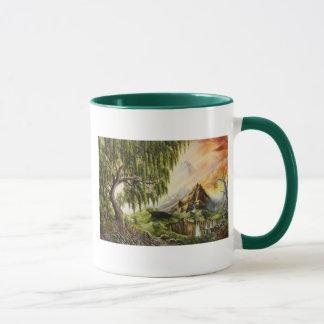 エデンの油絵のマグ マグカップ