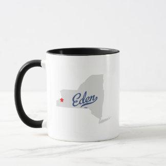 エデンニューヨークNYのワイシャツ マグカップ
