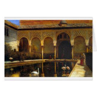 エドウィンの主Weeksによるアルハンブラの裁判所 カード