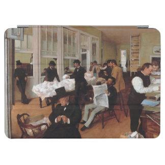 エドガーはニュー・オーリンズ1873年のAの綿のオフィスのガスを抜きます iPad AIR カバー