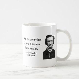 エドガーアレンPoeの引用文11b コーヒーマグカップ